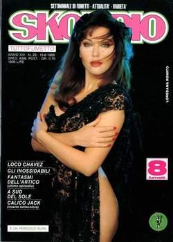 Copertina SKORPIO ANNO 13 n.23 - SKORPIO 1989            23, EDITORIALE AUREA