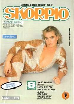Copertina SKORPIO ANNO 13 n.27 - SKORPIO 1989            27, EDITORIALE AUREA