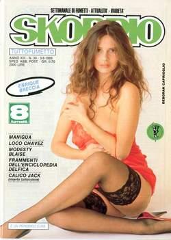Copertina SKORPIO ANNO 13 n.30 - SKORPIO 1989            30, EDITORIALE AUREA