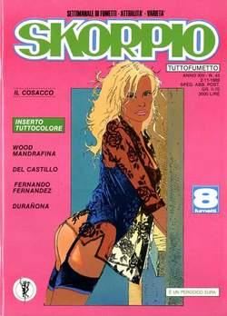 Copertina SKORPIO ANNO 13 n.43 - SKORPIO 1989            43, EDITORIALE AUREA