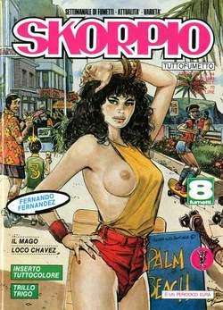 Copertina SKORPIO ANNO 13 n.44 - SKORPIO 1989            44, EDITORIALE AUREA