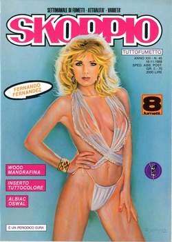 Copertina SKORPIO ANNO 13 n.45 - SKORPIO 1989            45, EDITORIALE AUREA