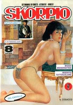 Copertina SKORPIO ANNO 13 n.49 - SKORPIO 1989            49, EDITORIALE AUREA