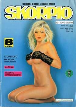 Copertina SKORPIO ANNO 13 n.52 - SKORPIO 1989            52, EDITORIALE AUREA