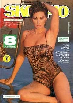 Copertina SKORPIO ANNO 13 n.1 - SKORPIO 1989             1, EDITORIALE AUREA
