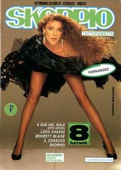 Copertina SKORPIO ANNO 13 n.4 - SKORPIO 1989             4, EDITORIALE AUREA