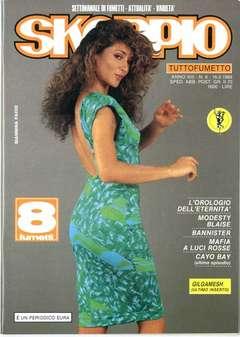 Copertina SKORPIO ANNO 13 n.6 - SKORPIO 1989             6, EDITORIALE AUREA
