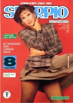 Copertina SKORPIO ANNO 13 n.8 - SKORPIO 1989             8, EDITORIALE AUREA