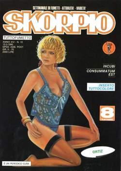 Copertina SKORPIO ANNO 14 n.10 - SKORPIO 1990            10, EDITORIALE AUREA