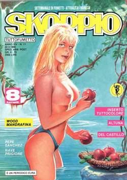 Copertina SKORPIO ANNO 14 n.11 - SKORPIO 1990            11, EDITORIALE AUREA