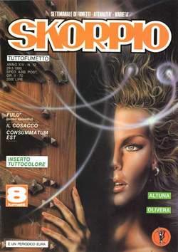 Copertina SKORPIO ANNO 14 n.12 - SKORPIO 1990            12, EDITORIALE AUREA