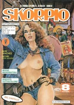 Copertina SKORPIO ANNO 14 n.13 - SKORPIO 1990            13, EDITORIALE AUREA