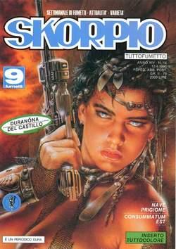 Copertina SKORPIO ANNO 14 n.14 - SKORPIO 1990            14, EDITORIALE AUREA