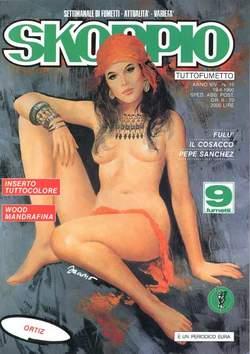 Copertina SKORPIO ANNO 14 n.15 - SKORPIO 1990            15, EDITORIALE AUREA
