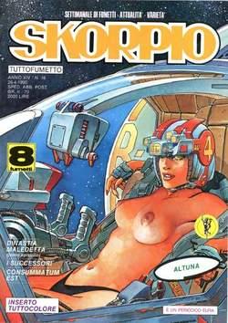 Copertina SKORPIO ANNO 14 n.16 - SKORPIO 1990            16, EDITORIALE AUREA