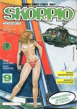Copertina SKORPIO ANNO 14 n.17 - SKORPIO 1990            17, EDITORIALE AUREA