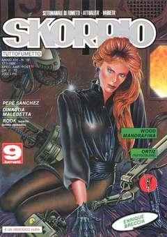 Copertina SKORPIO ANNO 14 n.19 - SKORPIO 1990            19, EDITORIALE AUREA