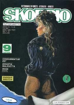 Copertina SKORPIO ANNO 14 n.22 - SKORPIO 1990            22, EDITORIALE AUREA