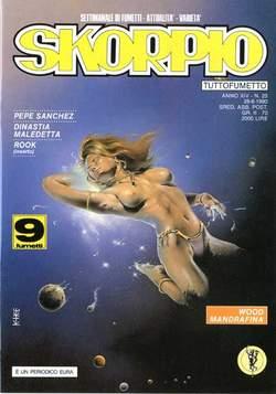 Copertina SKORPIO ANNO 14 n.25 - SKORPIO 1990            25, EDITORIALE AUREA