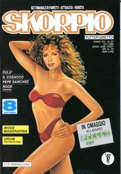 Copertina SKORPIO ANNO 14 n.27 - SKORPIO 1990            27, EDITORIALE AUREA