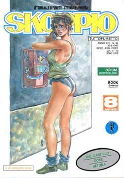 Copertina SKORPIO ANNO 14 n.34 - SKORPIO 1990            34, EDITORIALE AUREA