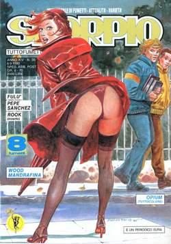 Copertina SKORPIO ANNO 14 n.35 - SKORPIO 1990            35, EDITORIALE AUREA