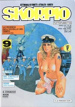 Copertina SKORPIO ANNO 14 n.40 - SKORPIO 1990            40, EDITORIALE AUREA