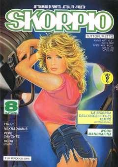 Copertina SKORPIO ANNO 14 n.41 - SKORPIO 1990            41, EDITORIALE AUREA