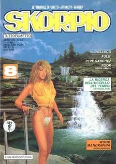 Copertina SKORPIO ANNO 14 n.43 - SKORPIO 1990            43, EDITORIALE AUREA