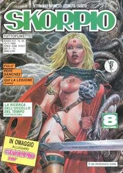 Copertina SKORPIO ANNO 14 n.45 - SKORPIO 1990            45, EDITORIALE AUREA