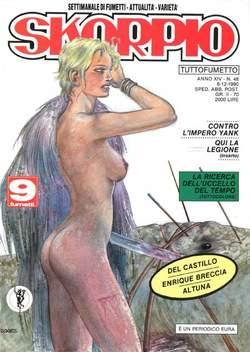 Copertina SKORPIO ANNO 14 n.48 - SKORPIO 1990            48, EDITORIALE AUREA