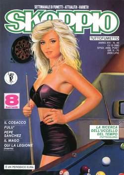 Copertina SKORPIO ANNO 14 n.49 - SKORPIO 1990            49, EDITORIALE AUREA