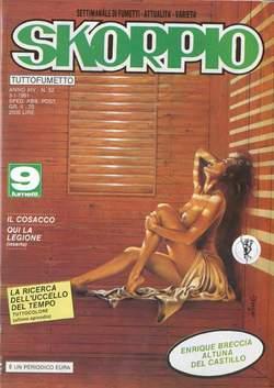 Copertina SKORPIO ANNO 14 n.52 - SKORPIO 1990            52, EDITORIALE AUREA