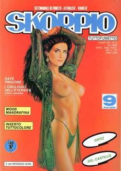Copertina SKORPIO ANNO 14 n.5 - SKORPIO 1990             5, EDITORIALE AUREA