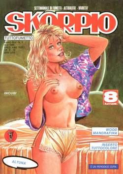 Copertina SKORPIO ANNO 14 n.7 - SKORPIO 1990             7, EDITORIALE AUREA