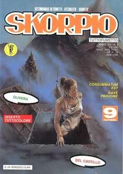 Copertina SKORPIO ANNO 14 n.8 - SKORPIO 1990             8, EDITORIALE AUREA