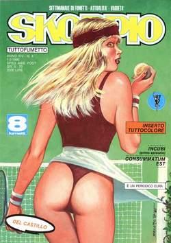 Copertina SKORPIO ANNO 14 n.4 - SKORPIO 1990             4, EDITORIALE AUREA
