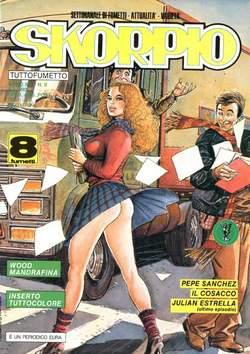 Copertina SKORPIO ANNO 14 n.9 - SKORPIO 1990             9, EDITORIALE AUREA