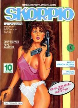 Copertina SKORPIO ANNO 15 n.11 - SKORPIO 1991            11, EDITORIALE AUREA