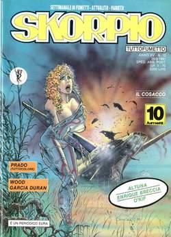 Copertina SKORPIO ANNO 15 n.12 - SKORPIO 1991            12, EDITORIALE AUREA