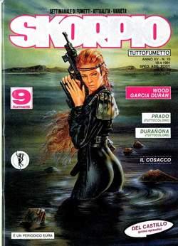 Copertina SKORPIO ANNO 15 n.15 - SKORPIO 1991            15, EDITORIALE AUREA