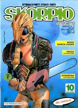 Copertina SKORPIO ANNO 15 n.17 - SKORPIO 1991            17, EDITORIALE AUREA