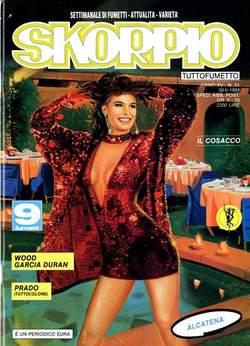 Copertina SKORPIO ANNO 15 n.21 - SKORPIO 1991            21, EDITORIALE AUREA