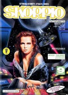 Copertina SKORPIO ANNO 15 n.22 - SKORPIO 1991            22, EDITORIALE AUREA