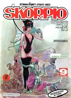 Copertina SKORPIO ANNO 15 n.28 - SKORPIO 1991            28, EDITORIALE AUREA