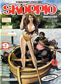 Copertina SKORPIO ANNO 15 n.32 - SKORPIO 1991            32, EDITORIALE AUREA