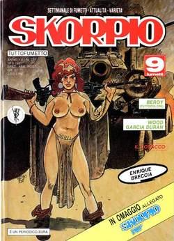 Copertina SKORPIO ANNO 15 n.37 - SKORPIO 1991            37, EDITORIALE AUREA
