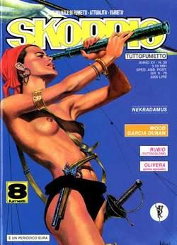 Copertina SKORPIO ANNO 15 n.39 - SKORPIO 1991            39, EDITORIALE AUREA