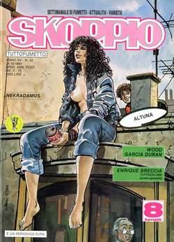 Copertina SKORPIO ANNO 15 n.42 - SKORPIO 1991            42, EDITORIALE AUREA