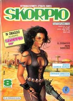 Copertina SKORPIO ANNO 15 n.43 - SKORPIO 1991            43, EDITORIALE AUREA